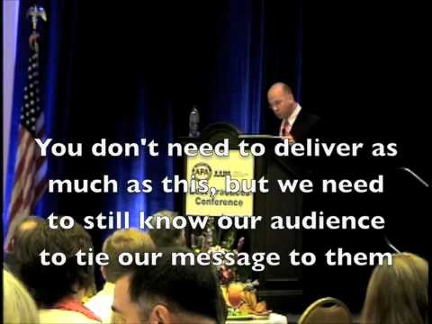 Lesson from the road Keynote Speaking: How to connect