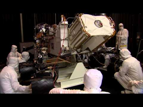 Mars Rover Goes From Shake to Bake