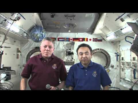 Station Crew Discusses Life in Space With CBS News