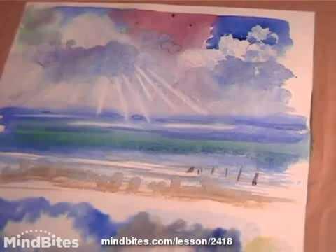 Watercolor-Blending and Texture basics