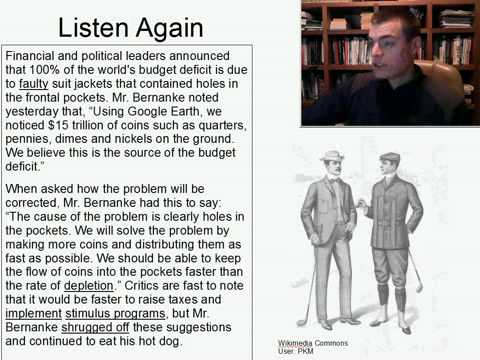 Intermediate Listening English Practice 19: Global Deficit Linked to Holes