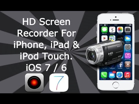 HD Screen Recorder For iPhone 4S, 4, 3GS, iPad 3, 2, 1 & iPod Touch 4 With Display Recorder
