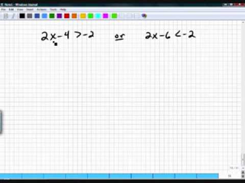 Algebra One Section 6.3 Part 4
