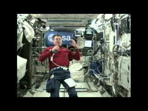 "European Astronaut Discusses Life in Space with Britain's ""Beeb"""