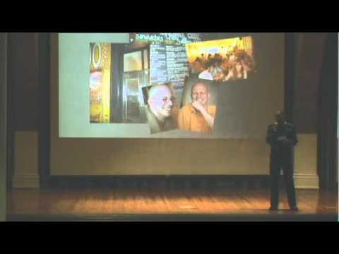 TEDxGotham, Rasanath Das, The Practice of Monasticism in a World of Business and Technology