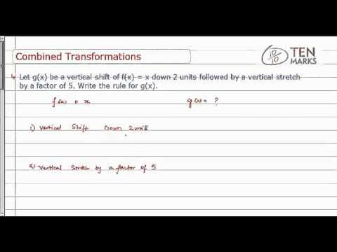 Combined Transformation of Linear Functions