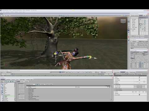 Autodesk MotionBuilder 2010 New Features, Animation with Ragdoll part 2