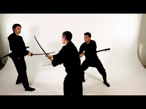 How to Fight Two Opponents | Katana Sword Fighting