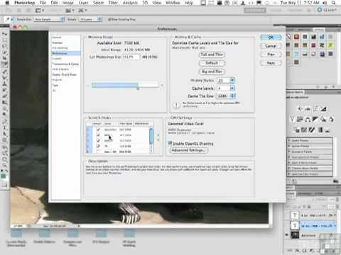 Adobe PS CS5 - Setting Essential Preferences