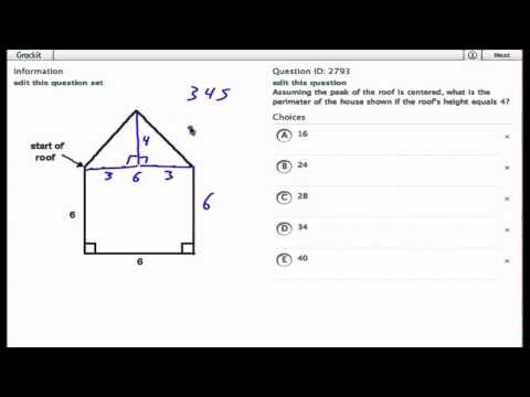 Grockit SAT Math - Multiple Choice: Question 2793