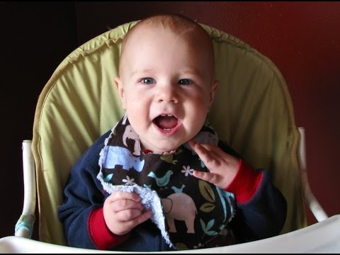 Easy Breezy Baby Bib Tutorial: How To Make A Bib
