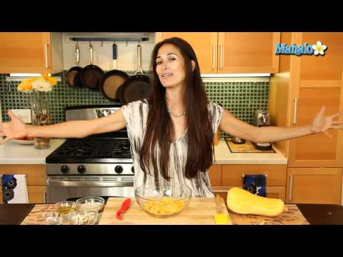 How to Make Raw Butternut Squash Pasta with Alfredo Sauce
