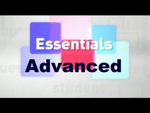 Essentials #05 (Advanced)