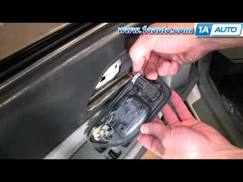 How To Install Replace Inside Door Handle Honda Accord 94-97 1AAuto.com