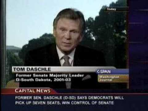 CAP's Sen Tom Daschle on CSPAN Washington Journal Part 4