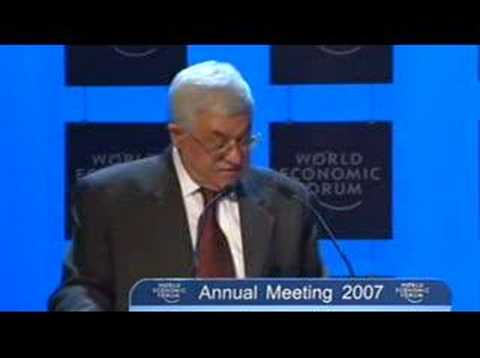 Davos Annual Meeting 2007- Israel & Palestinian Territories