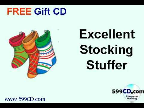 FREE Holiday Gift CDs - Video Tutorials - Microsoft Windows, Word, Excel, Access, Photoshop, More!