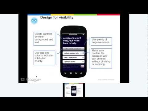How to create your mobile strategy Hangout on Air