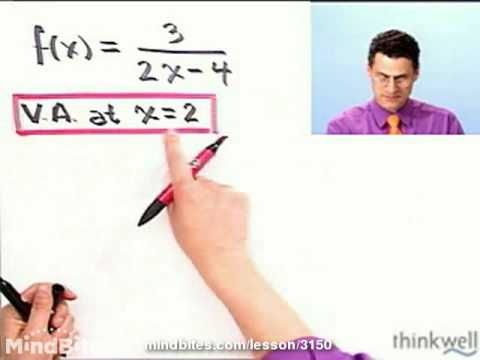 College Algebra: Graph Rational Functions
