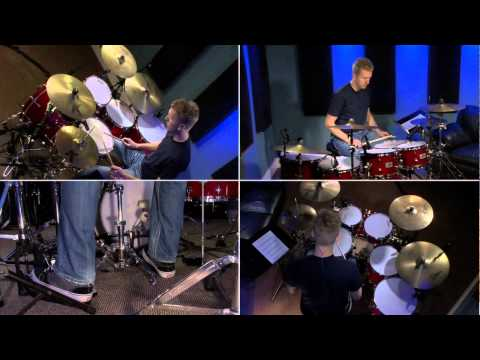 Off Set 8th Note Grooves - Drum Lessons