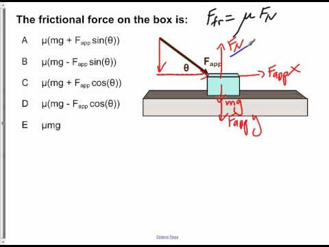 AP Physics B Dynamics Presentation #02