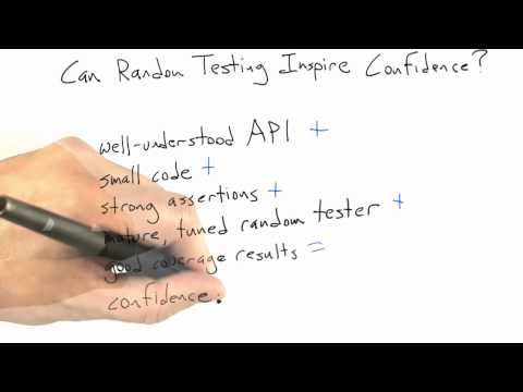 Can Random Testing Inspire Confidence - Software Testing - Random Testing - Udacity