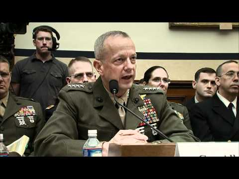General Allen: Despite Setbacks, Afghan Mission on Track
