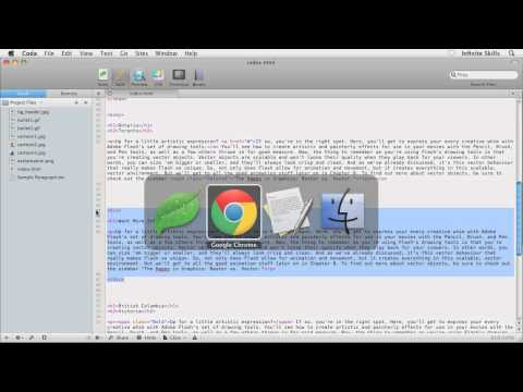 CSS 3 Tutorial Video | Creating A Floating Sidebar, Part 1