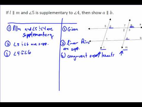 Angle Proof Example 2