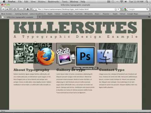 Photoshop for the Web - Introduction