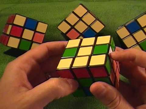 How to solve a Rubik's Cube - 3 of 3  The  Simple Way - How to solve the Dedmore Fish and H pattern