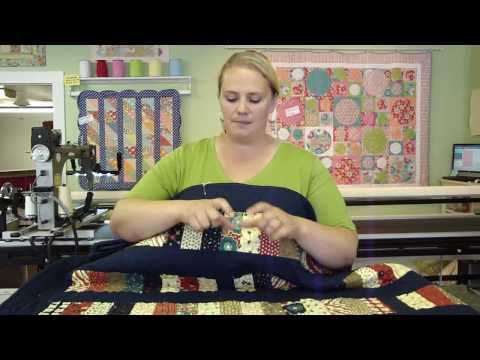 Jelly Roll Week - Sarah talks about the coins quilt