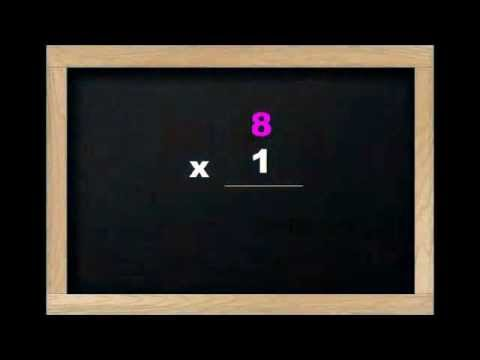 Multiplication Rap Song - Times Table (multiply X 8) Song for Children