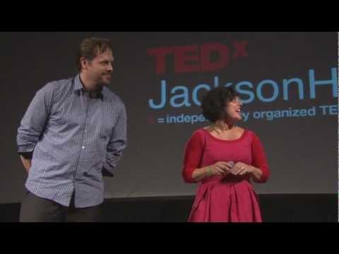 TEDxJacksonHole - Nona Yehia & Jefferson Ellinger - New Architectures: Nature and Phenomena