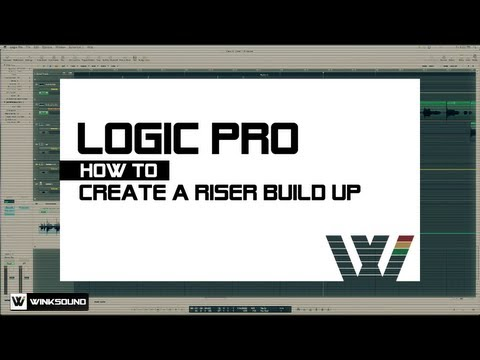 Logic Pro: How To Create A Riser Build Up | WinkSound