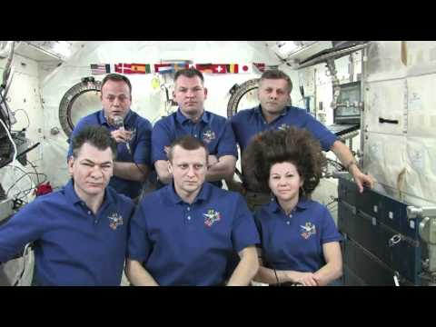 Station Crew Discusses Milestone Anniversaries with the Media