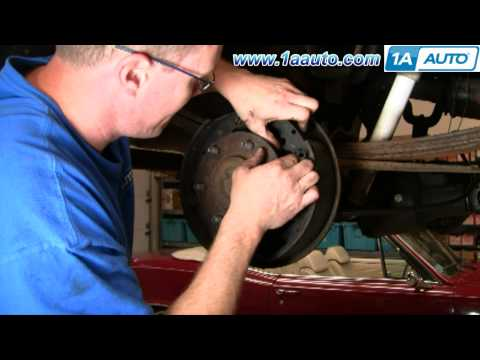 How To Install Replace Rear Drum Brake Wheel Cylider GM Truck SUV 1AAuto.com