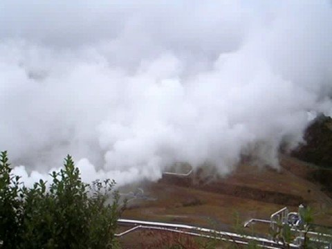 Wairekei Geothermal Plant, New Zealand