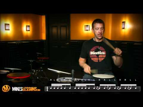 Drum Lessons with Mike Johnston - Chop Builders