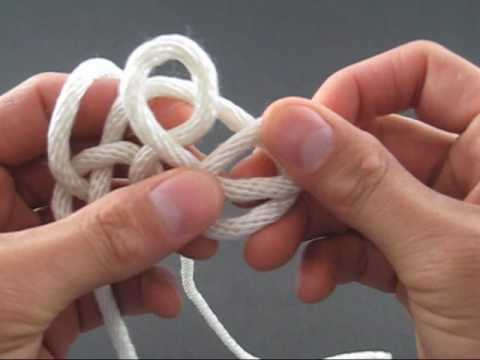 How to Tie a Celtic Triangle Knot by TIAT
