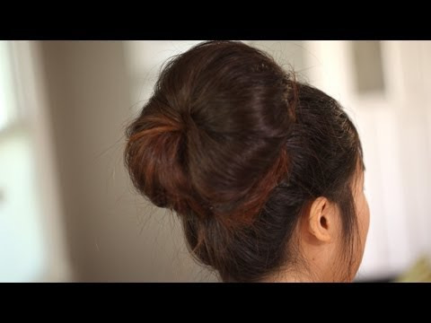 Big Bun: Easy Modern Hairstyle: Create It (How to) || Kin Beauty