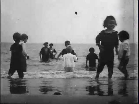 Children in the surf, Coney Island