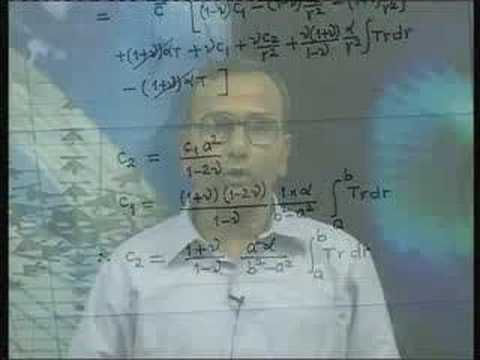 Lecture - 31 Advanced Strength of Materials