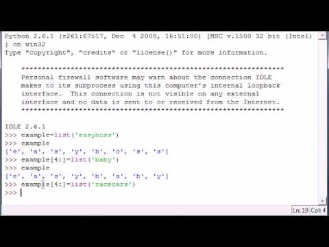 Python Programming Tutorial - 13 - Slicing Lists