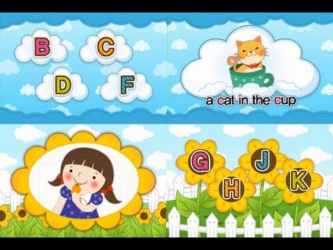 Muffin Songs - ABC Phonics Chant Song 4 - B C D F G H J K  (Level II-Consonant)  | muffin songs