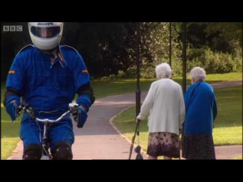 Home-made rocket-powered bicycle - Speed - BBC