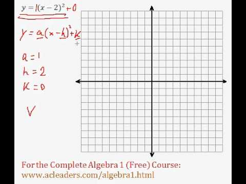 (Algebra 1) Quadratics - Graphing Quadratic Functions Pt. 4