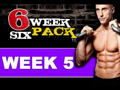 Home 6 Pack Abs Workout ( 6 Week 6 Pack - Week 5 ) Get Ripped Fast!