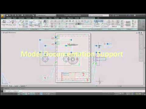 What's New in AutoCAD Mechanical 2013