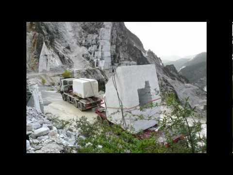 Quarrying and Carving Marble